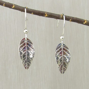 All Earrings - Silver and Bronze