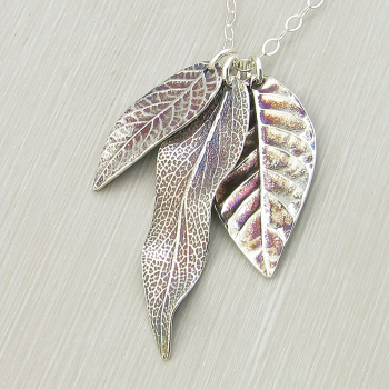 Nature Walk Collection in Silver
